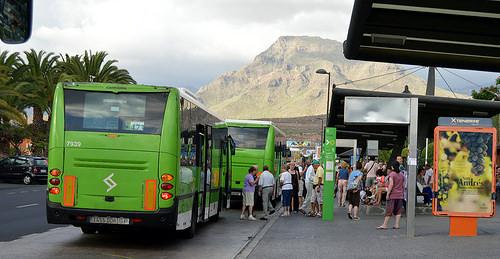 Titsa bus service