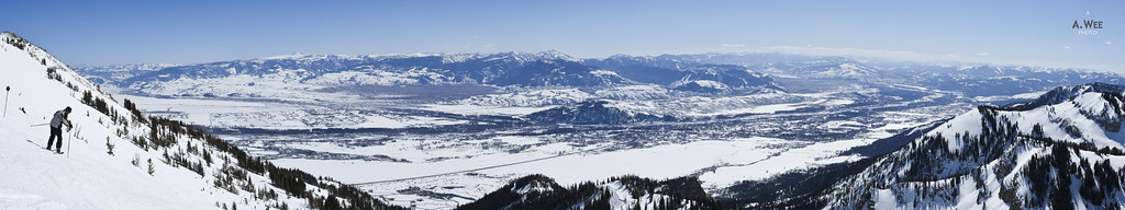 Panorama from the Top of Rendezvous Bowl