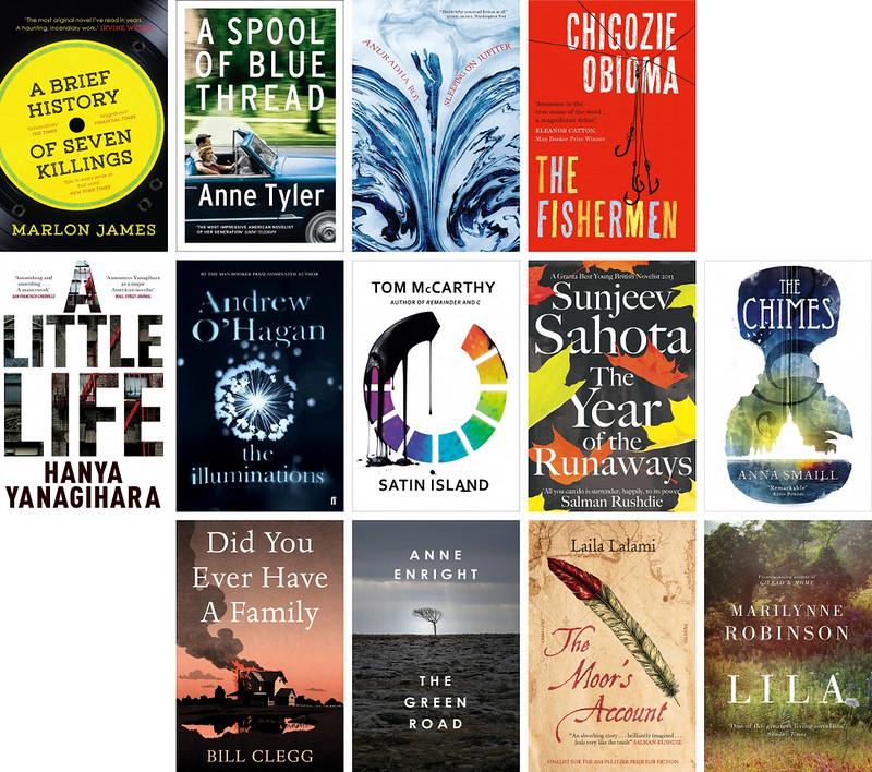 The Man Booker Prize 2015 longlist