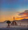 Burning Man at Sunset, 2011