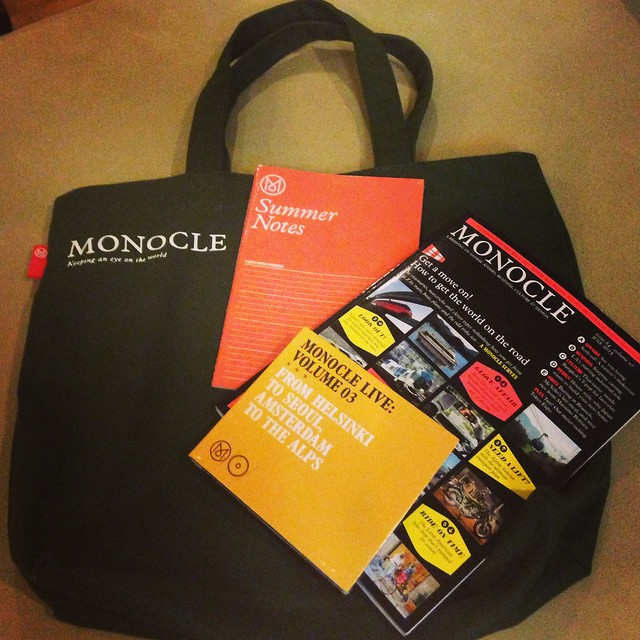 Monocle at Univers