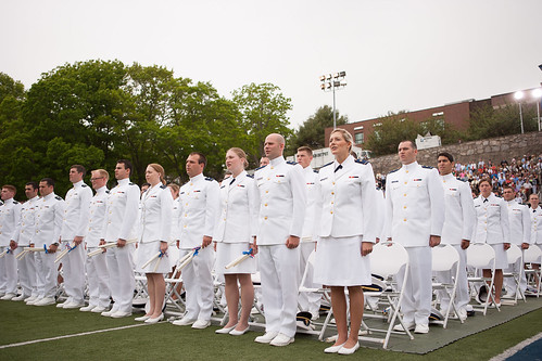 U.S. Coast Guard Academy Class of 2013 graduates from the academy in New London, Conn., May 22, 2013. Vice President Joe Biden gave the commencement speech to the 227 new leaders of the U.S. Coast Guard. U.S. Coast Guard Photo by Petty Officer 2nd Class LaNola K. Stone.