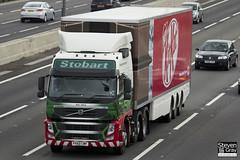 Volvo FM 6x2 Tractor - PX60 CWF - Alex Alicia - Eddie Stobart - M1 J10 Luton - Steven Gray - IMG_8143