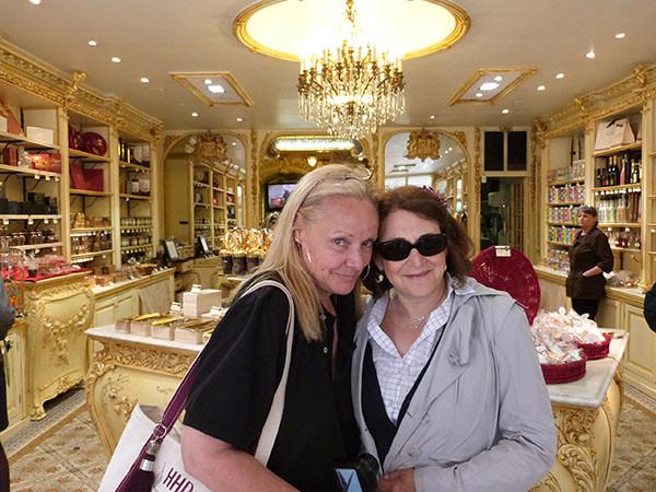 hillary et Barbara chez Auer