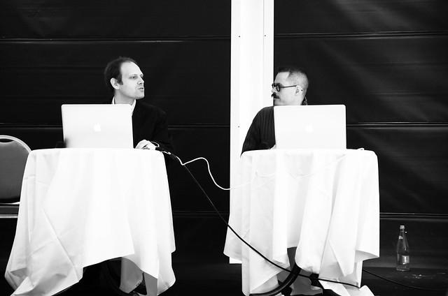 Emmanuel Gaillot et Jonathan Perret en binômage