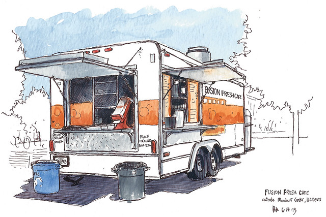fusion fresh cafe truck
