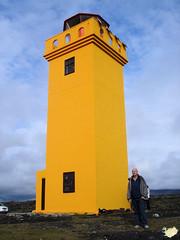 Islandia. Öndverðarnes. El faro