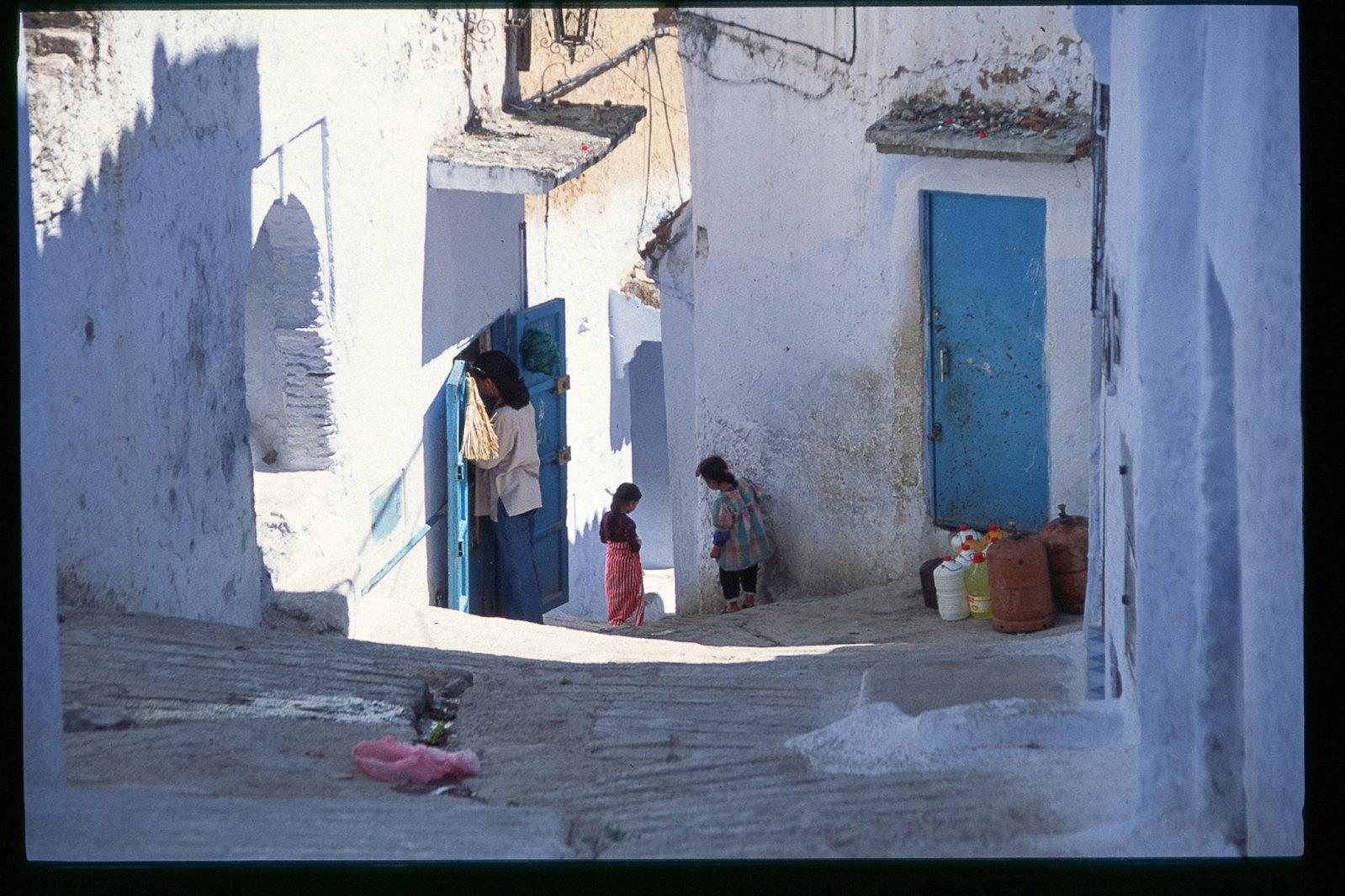 Chefchaouen - De la vie dans les ruelles