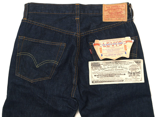 Levi's for J.Crew / LVC 501XX 1947 Selvedge Rinse Washed Jean