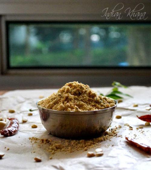 Pappula Putnala Pottukadalai Podi Recipe