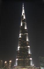 Night Shot at Dubai Mall
