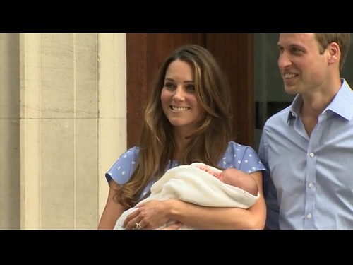 Screenshot Prince William, Kate & Royal Baby at  Lindo Wing