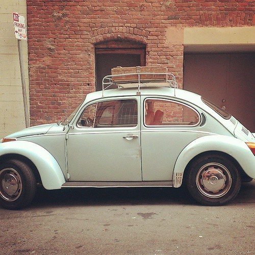 #vw #beatle at work.
