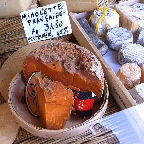 Fromage #mimolette