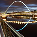 millennium bridge newcastle millenium Bridge.. by AlanHowe :)