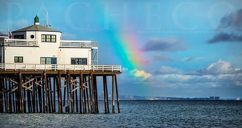 Malibu Pier Rainbow, Malib Ca