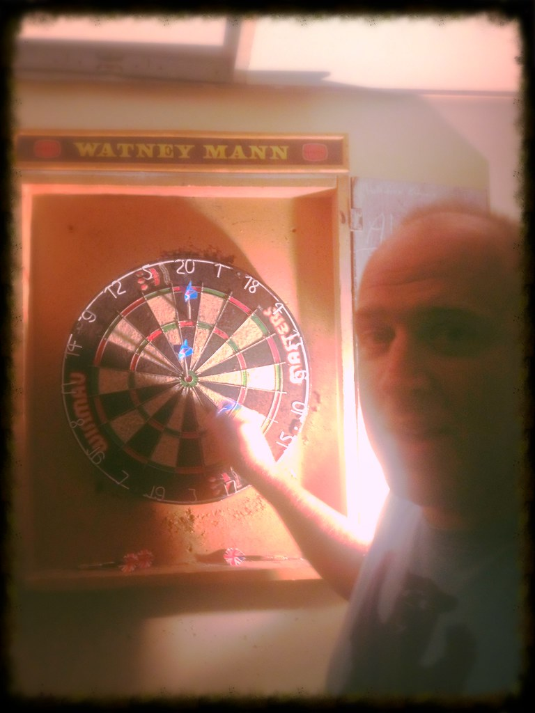 Darts with Tim Vine...