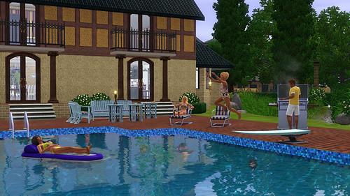 sims-summer