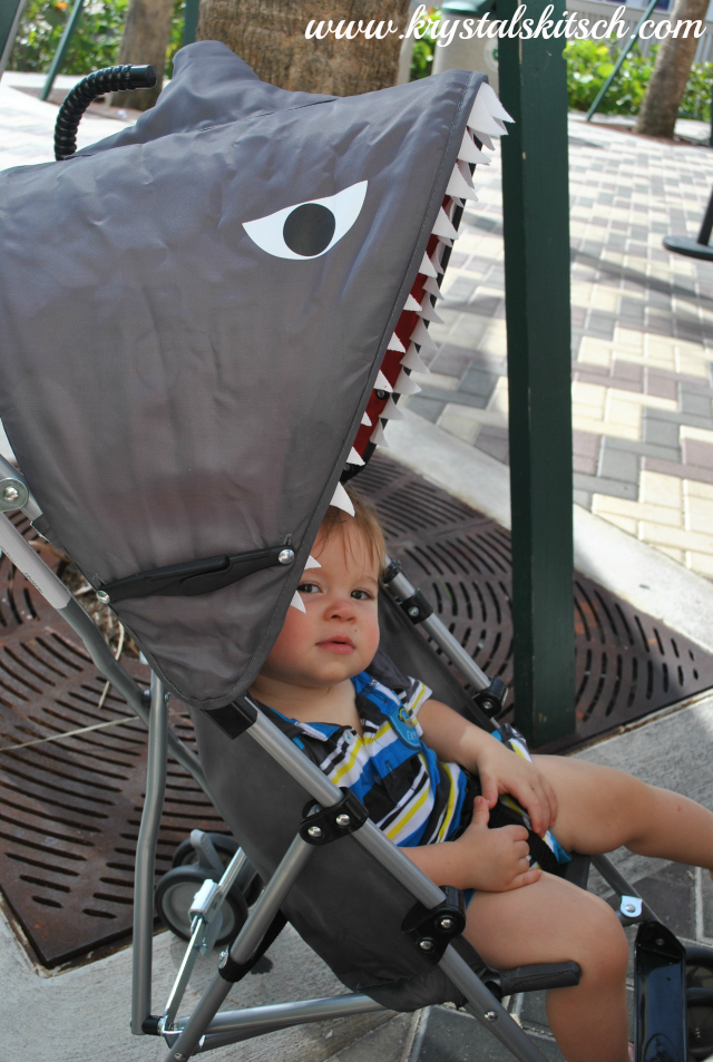 Shark Umbrella Stroller
