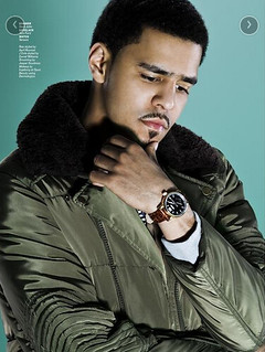 Nas & J Cole Vibe Magazine 20th Anniversary issue pics