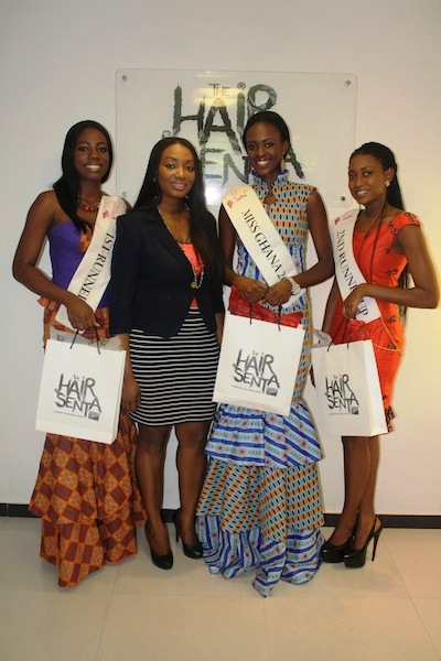 Miss Ghana 2013 winners visit Hair Senta (14)