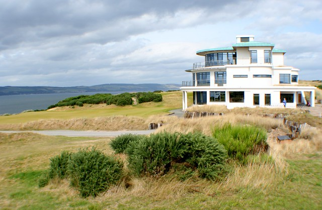 Castle Stuart Club House, Inverness, Scottish Highlands