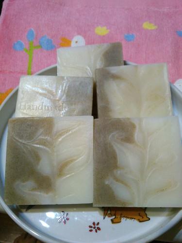 清涼綠豆粉洗髮皂