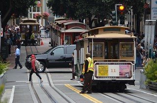 MUNI Powell Mason - San Francisco - Powell St. August 15, 2013