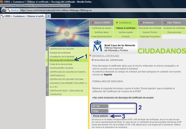 Imagen Paso 3 Firefox CERES
