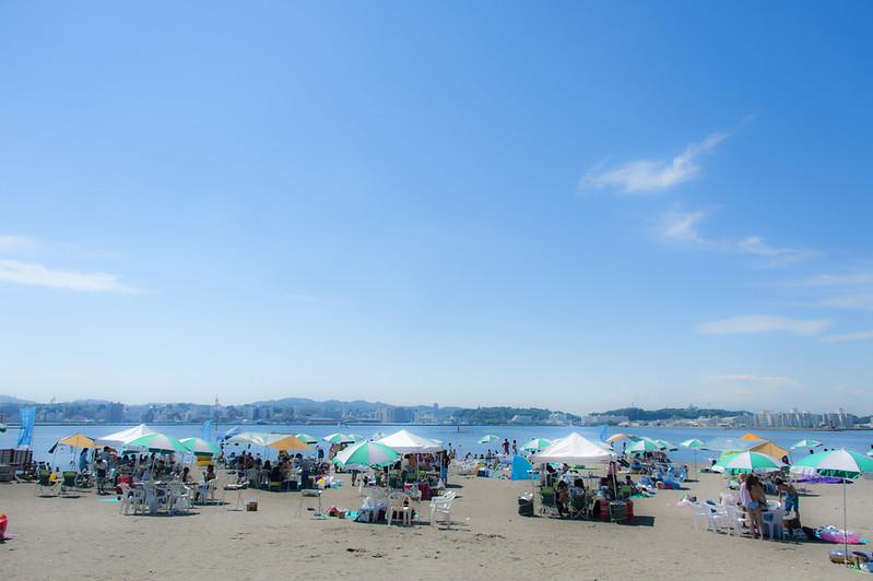 夏の日の猿島