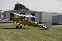 The Tiger Clubs 8 De Havilland Tiger Moths over Shoreham 54