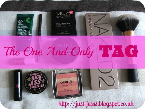 The One And Only beauty blogger makeup tag