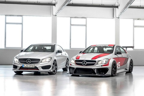 Mercedes Benz CLA 45 AMG Racing Series Concept