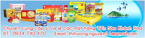 Chuyên cung cấp sỉ và lẻ các mặt hàng Yến Sào Khánh Hòa - ĐT: 0934 740 470 - Email: thihuong.nguyen31@gmail.com