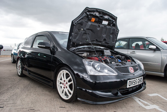 Honda civic type r supercharged : Papiloma hombres