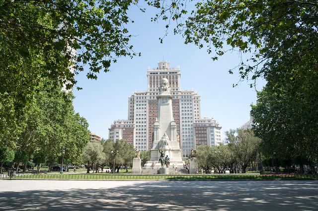 マドリード スペイン広場