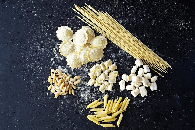 Pasta shapes from Food52