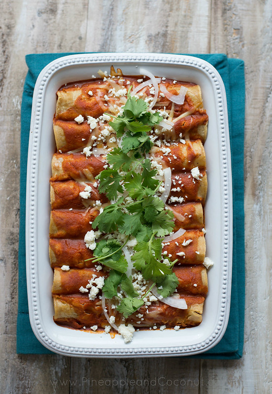 9730230584 bb13542d25 c Best Ever Chicken Enchiladas {Appreciation Post}