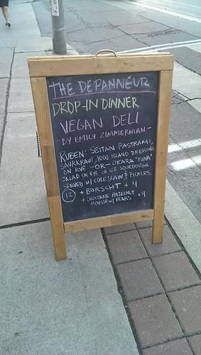 The Depanneur Drop-in Dinner Vegan Deli