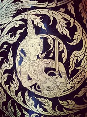 Angel in Thai painting