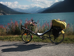 mountain, vehicle, cycling, land vehicle, bicycle, recumbent bicycle,