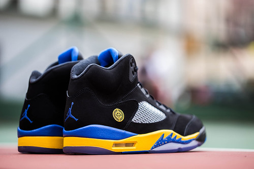 Air Jordan 5 Retro Shanghai Shen Colorway