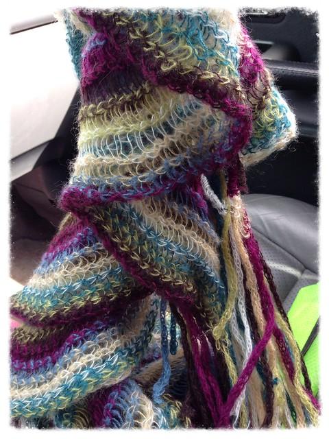 New scarf~thrifty find!