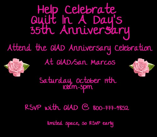 attend the QIAD party