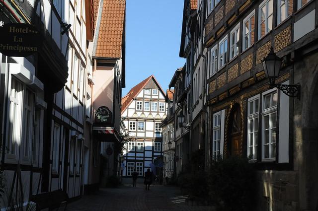 Zwischen Kupferschmiedestraße und Bäckerstraße; Hameln (18)