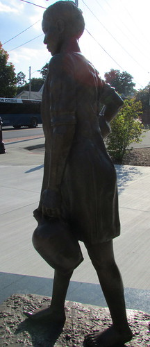 Sojourner Truth Statue - Silhouette