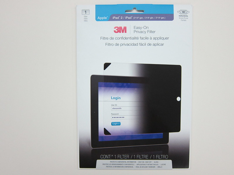 3M Screen Protectors - Packaging Front