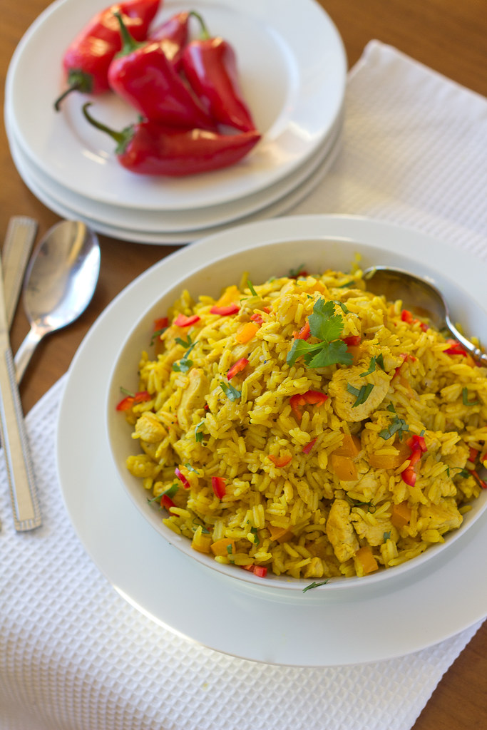 Easy Chicken Rice Bowl