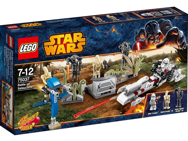 LEGO Star Wars 75037 - Battle on Saleucemi