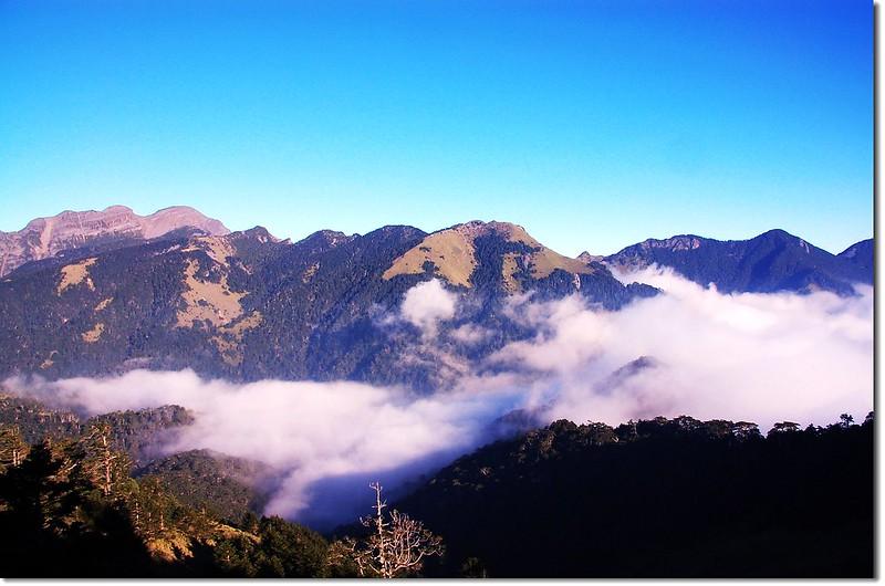 雪山西南峰(From 火石山)